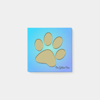 golden paw - Post-It-Notes pad Post-it Notes