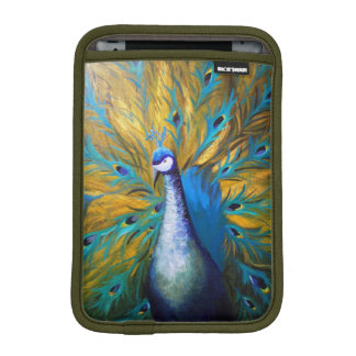 Golden Peacock (Kimberly Turnbull Art) iPad Mini Sleeve