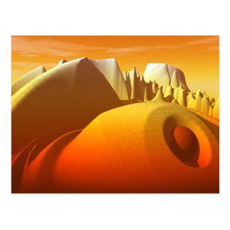 Golden Peaks Postcard