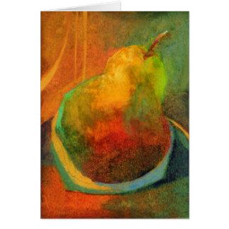 Golden Pear • Michelle Abrams - card