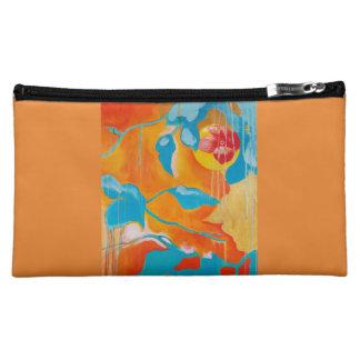 Golden Persimmon I Makeup Bag