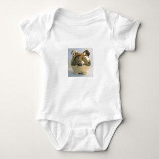 Golden pig   baby bodysuit