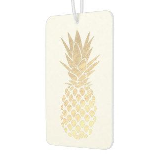golden pineapple air freshener