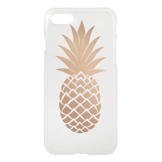 Golden Pineapple iPhone 7 Case