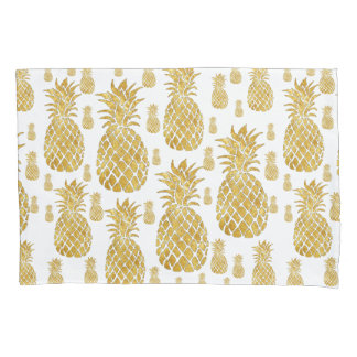 golden pineapples pillowcase