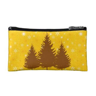 Golden Pines Cosmetic Bag