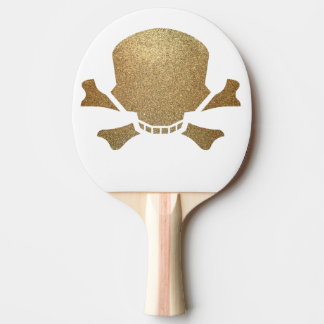 golden ping pong paddle
