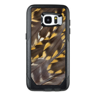 Golden Plover Feathers OtterBox Samsung Galaxy S7 Edge Case
