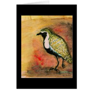 Golden Plover - water bird Note Card