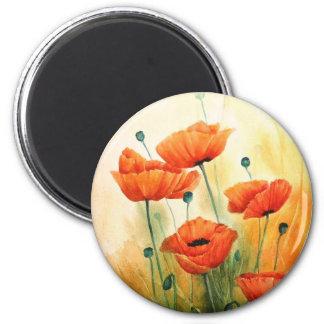 Golden Poppies Magnet