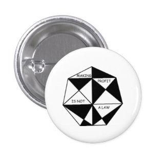 Golden profit 1 inch round button