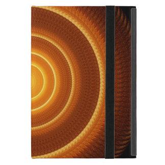 Golden Pulse Mandala Cases For iPad Mini
