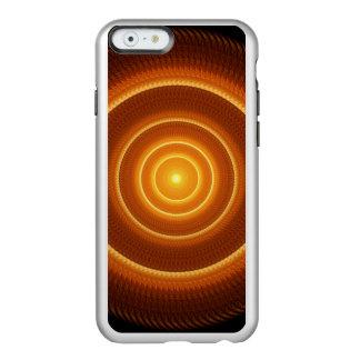 Golden Pulse Mandala Incipio Feather® Shine iPhone 6 Case