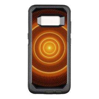Golden Pulse Mandala OtterBox Commuter Samsung Galaxy S8 Case