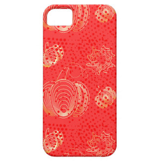 Golden pumpkin on pink background iPhone 5 covers