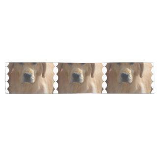 Golden Pup Short Table Runner