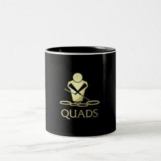 Golden Quads Coffee Mug