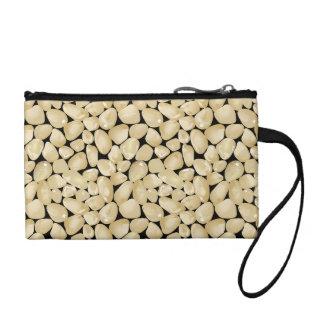 Golden quartz coin purse