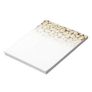 Golden quartz notepads