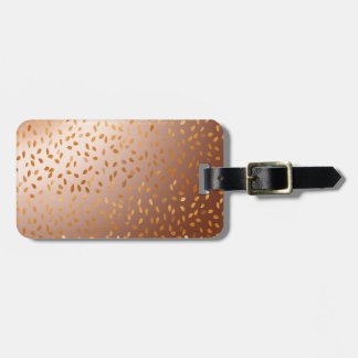 Golden rain bag tag