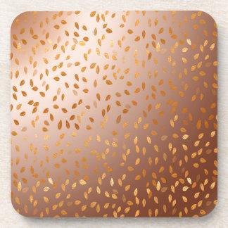 Golden rain coaster