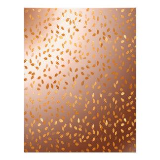 Golden rain custom letterhead