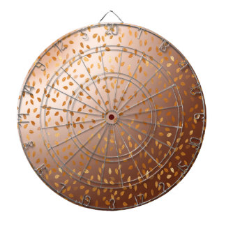 Golden rain dartboard