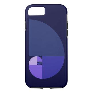 Golden Ratio, Fibonacci Spiral Case-Mate iPhone Case