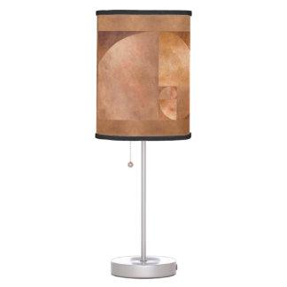 Golden Ratio, Fibonacci Spiral Table Lamp
