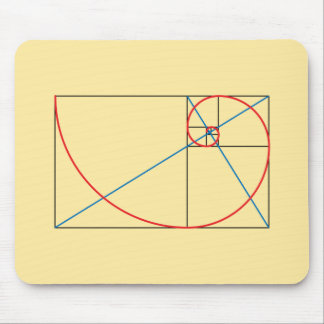 Golden Ratio Mouse Pad