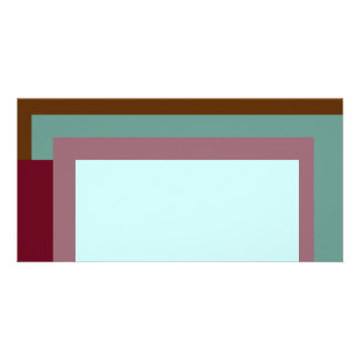 Golden Ratio Sea Rouge Blocks Picture Card
