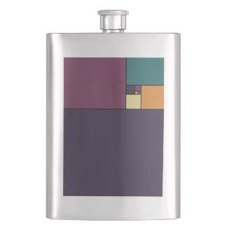 Golden Ratio Squares Flask