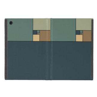 Golden Ratio Squares (Neutrals) iPad Mini Covers