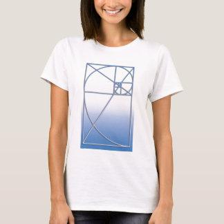 Golden Ratio White-Blue T-Shirt