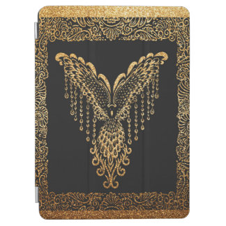Golden raven iPad air cover