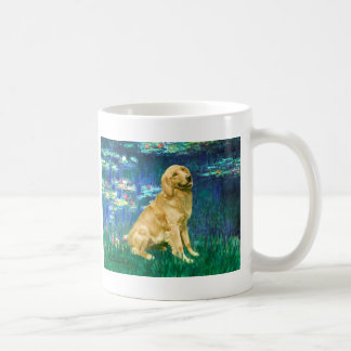 Golden Retriever 1 - Lilies 5 Coffee Mug