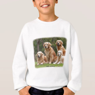 Golden Retriever 9Y180D-149 Sweatshirt