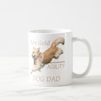 Golden Retriever Agility Dog Dad MUG