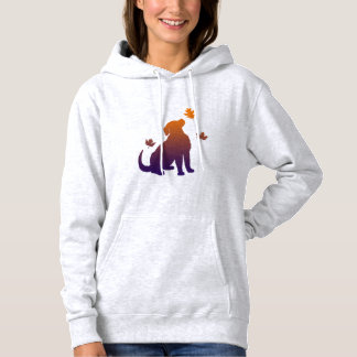 Golden Retriever Among the Fall Leaves Hoodie