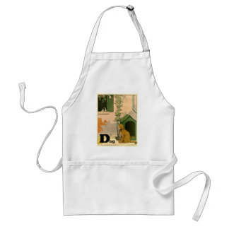 Golden Retriever and Jack Russell Terrier Standard Apron