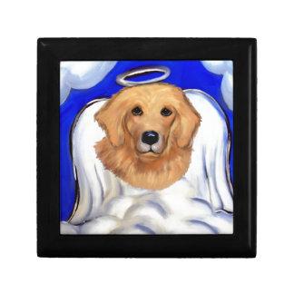 Golden Retriever Angel Gift Box
