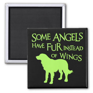 GOLDEN RETRIEVER ANGEL MAGNET