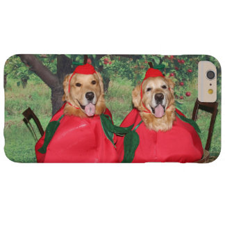 Golden Retriever Apples in a Basket Barely There iPhone 6 Plus Case