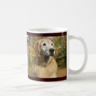 Golden Retriever Autumn Mug