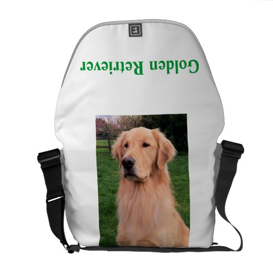 Golden Retriever Bag Courier Bags