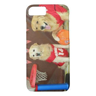Golden Retriever Basketball Game iPhone 7 Case