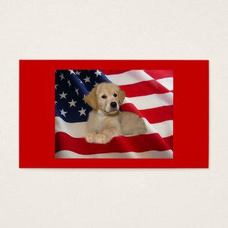 Golden Retriever Breeder Business Card