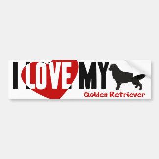 Golden Retriever Bumper Stickers