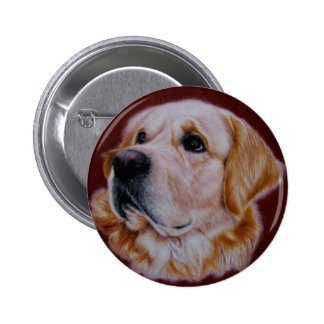 Golden Retriever Buttons
