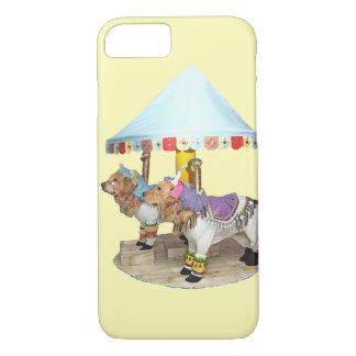 Golden Retriever Carousel iPhone 7 Case